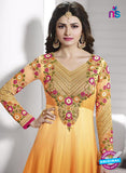 Vinay Fashion 3932 Orange and Pink Georgette  Designer Gawn