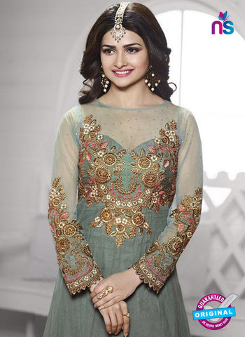 Vinay Fashion 3937 Grey and Golden Georgette  Designer, Gawn