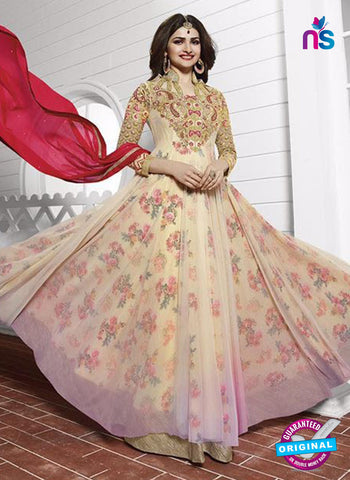 Vinay Fashion 3938 Yellow and Multicolor Georgette  Designer Gawn