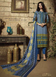 Ganga 3939 Blue Color Satin Cotton Designer Suit
