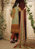 Ganga 3941 Orange Color Satin Cotton Designer Suit