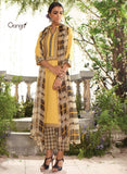 Ganga 3951 Green & Yellow Color Lawn Cotton Designer Suit