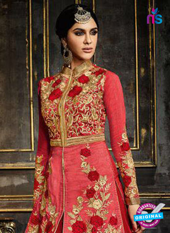 Safeena 3991 Red Indo Western Suit