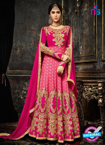 Safeena 3993 Pink Anarkarli Suit