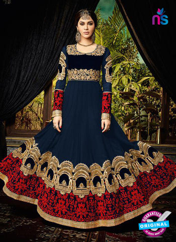 Safeena 3994 Blue Anarkarli Suit