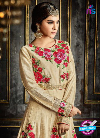 Safeena 3995 Beige Anarkarli Suit