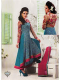 NS11671 Blue and Pink Party Wear Anarkali Suit