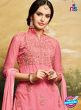 AZ 3504 Pink Georgette Party Wear Suit - Salwar Suits - NEW SHOP