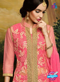AZ 3505 Pink Georgette Party Wear Suit - Salwar Suits - NEW SHOP