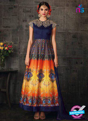 Aashirwad 4001 Multicolor Anarkali Suit
