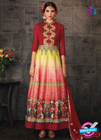 Aashirwad 4002 Multicolor Anarkali Suit