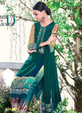 Ganga 4005 Green Color Bemberg Georgette Designer Suit