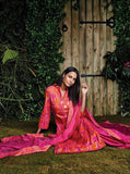 Ganga 4018 Pink Color Glace Cotton Designer Suit