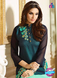 LT 401 Blue and Sea Green Designer Fancy Exclusive Party Wear Stitched Tunic