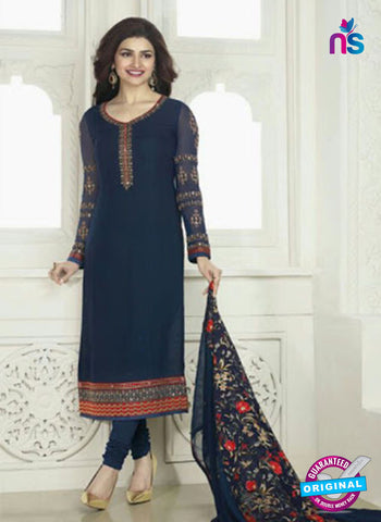 Vinay Fashion 4022 Blue Designer Georgette Party Wear Straight Suit