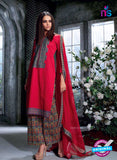 Ganga 4032 Red Color Cotton Designer Straight Suit