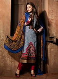 Mohini 403B  Blue Color Georgette Designer Suit