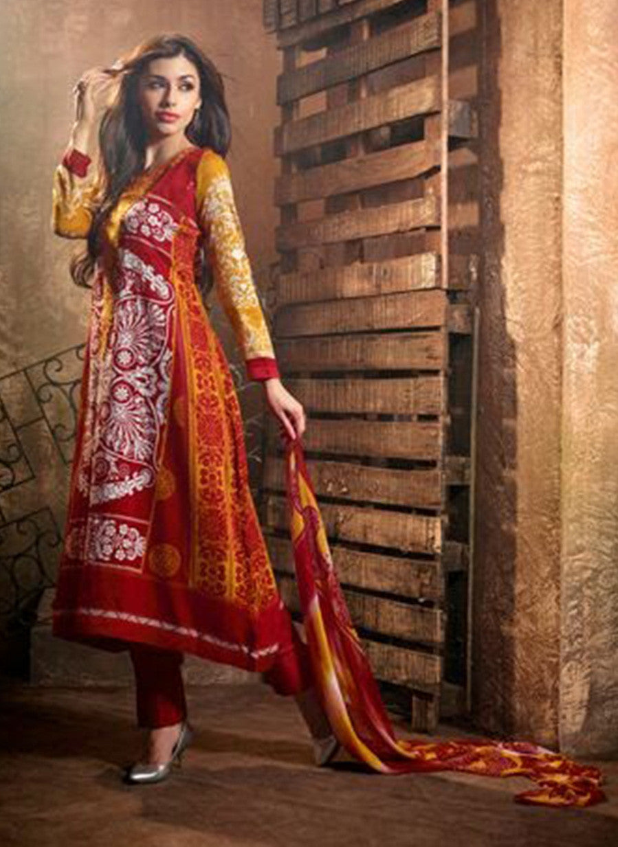 Mohini 405B  Maroon Color Georgette Designer Suit