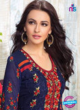 AZ 3540 Blue Georgette Party Wear Suit - Salwar Suits - NEW SHOP