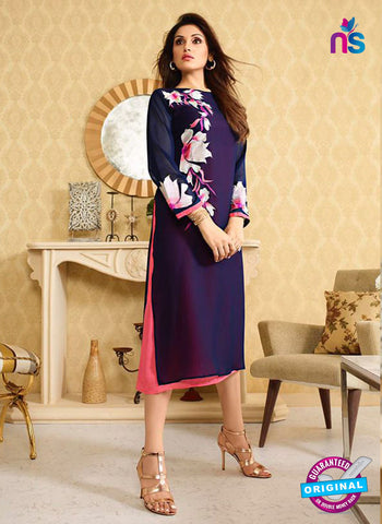 LT 406 Blue Designer Fancy Exclusive Party Wear Stitched Kurti