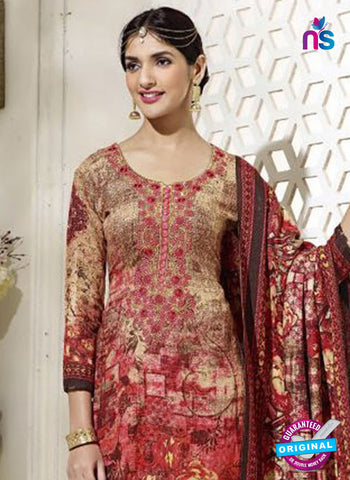 SC 14296 Multicolor Pahmina Patiala Suit