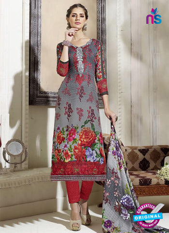 SC 14297 Grey Pashmina Patiala Suit