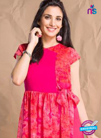 Nidhi Synthetic 409 Pink Designer Tunic