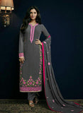 Sajawat 41001 Grey Semi Georgette Party Wear Suit