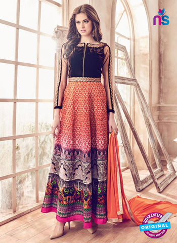 Mannat 4101 Muticolor Anarkarli Suit