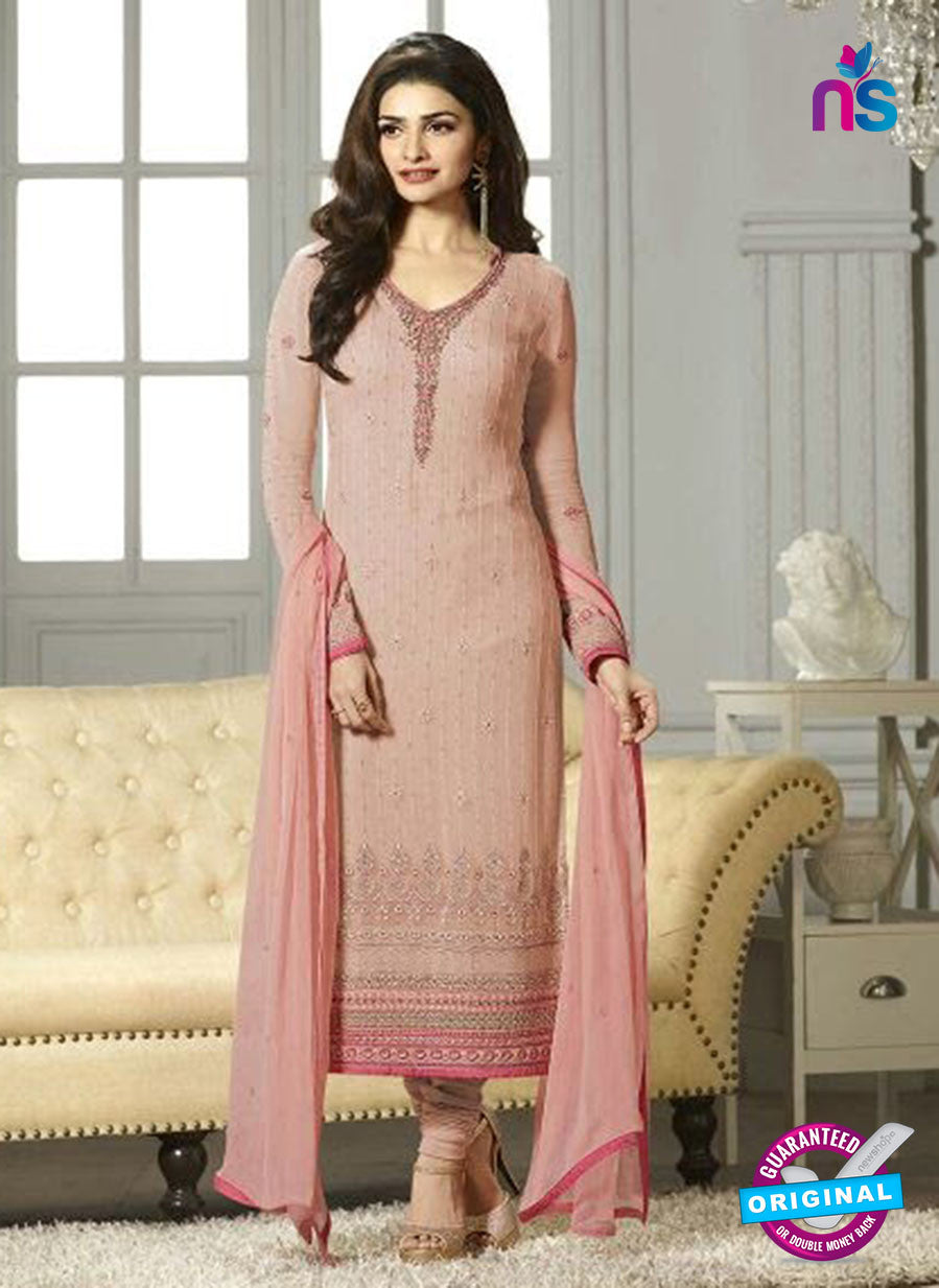 Vinay Fashion 4114 Pink Georgette Party Wear Suit