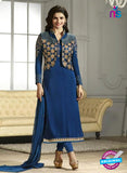 Vinay Fashion 4115 Blue Crape Silk Party Wear Suit