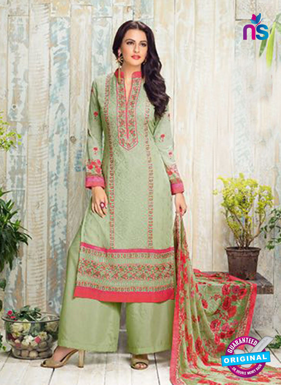 AZ 3548 Green Georgette Party Wear Suit