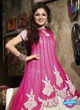 NS 12353 Pink and Beige Party Wear Anarkali Suit