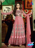 NS 12350 42007 Pink Party Wear Anarkali Suit