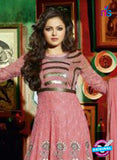 NS 12350 Pink Party Wear Anarkali Suit