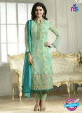 Vinay Fashion 4292 Green Georgette Embroidery Pakistani Suit