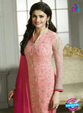 Vinay Fashion 4294 Pink Georgette Embroidery Pakistani Suit