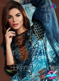 NS10632 Multicolor and Black Party Wear Printed Satin Pakistani Suit