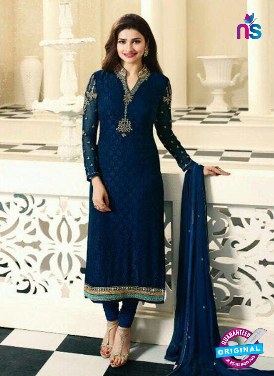 Vinay Fashion 4382 Blue Brasso Fancy Designer Party Wear Suit