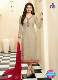 Vinay Fashion 4384 Beige Brasso Fancy Designer Party Wear Suit