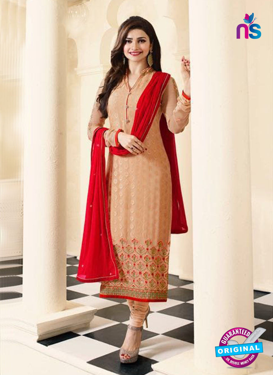 Vinay Fashion 4386 Peach Brasso Fancy Designer Party Wear Suit