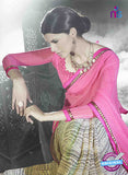 NS11024 Pink Designer Georgette Saree