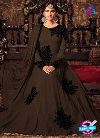 Masha 4405 B Brown Anarkali Suit