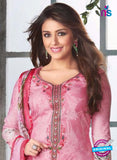 Rakhi-4417B-Pink Color Cotton Designer Suit