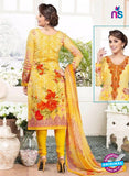 Rakhi 4432A Yellow and Red Lawn Designer Suit