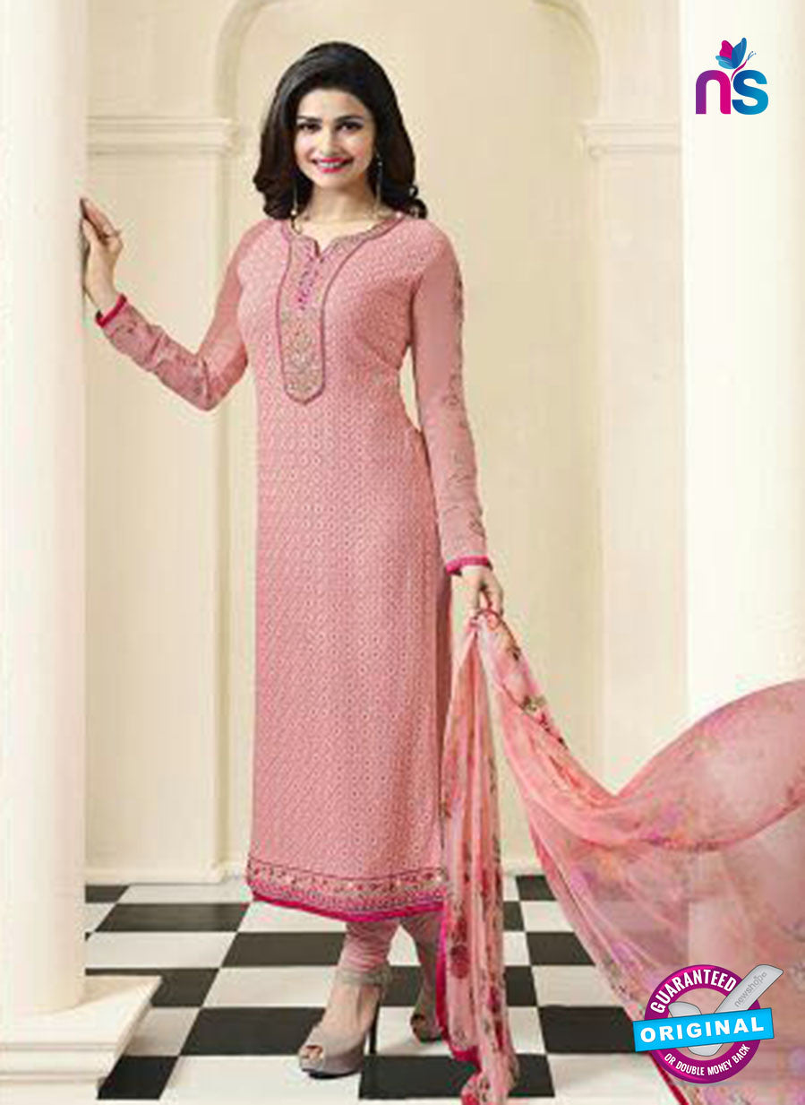 Vinay Fashion 4471 Pink Georgette Party Wear Suit