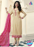 Vinay Fashion 4472 Beige Georgette Party Wear Suit