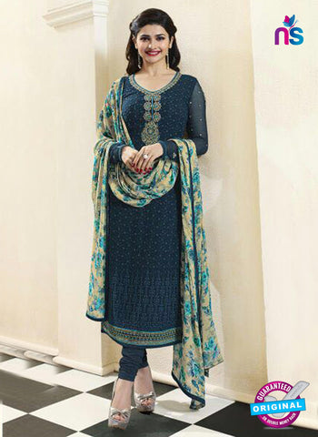 Vinay Fashion 4473 Blue Georgette Party Wear Suit