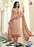 Vinay Fashion 4474 Peach Georgette Party Wear Suit