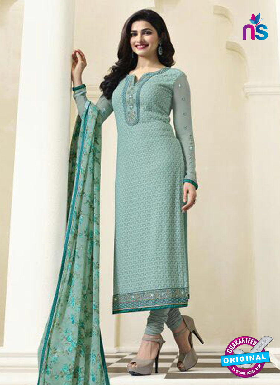 Vinay Fashion 4475 Sea Green Georgette Party Wear Suit